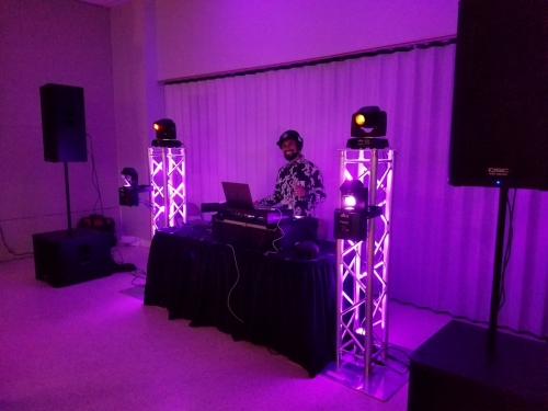 $500 Gold Package (Basic Lights and Sound) 11'W X 6'H (Truss to Truss)
